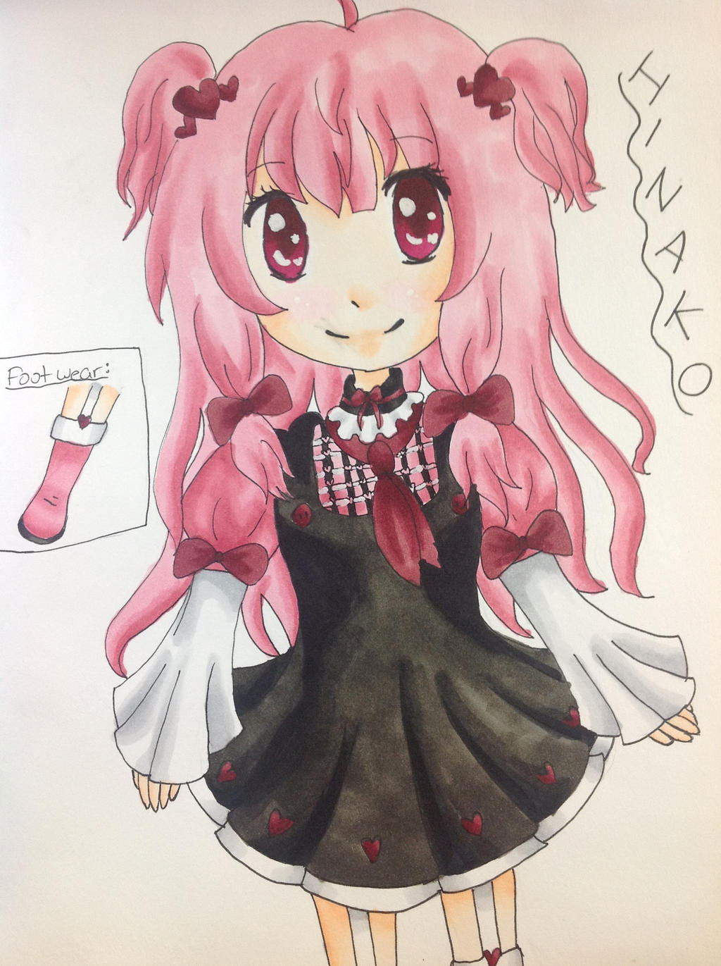 Hinako ~ by CopicUser101