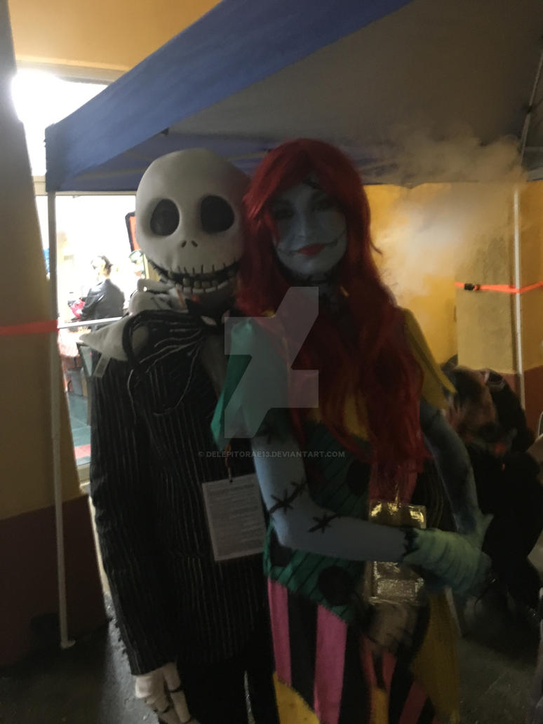 Jack and Sally by delepitorae13