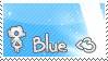 I love Blue Stamp by relina1611