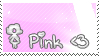 I love Pink Stamp by relina1611