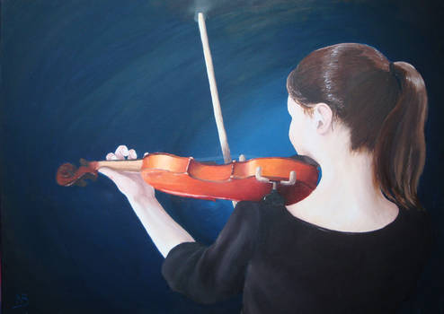 Triptych for strings : Violin