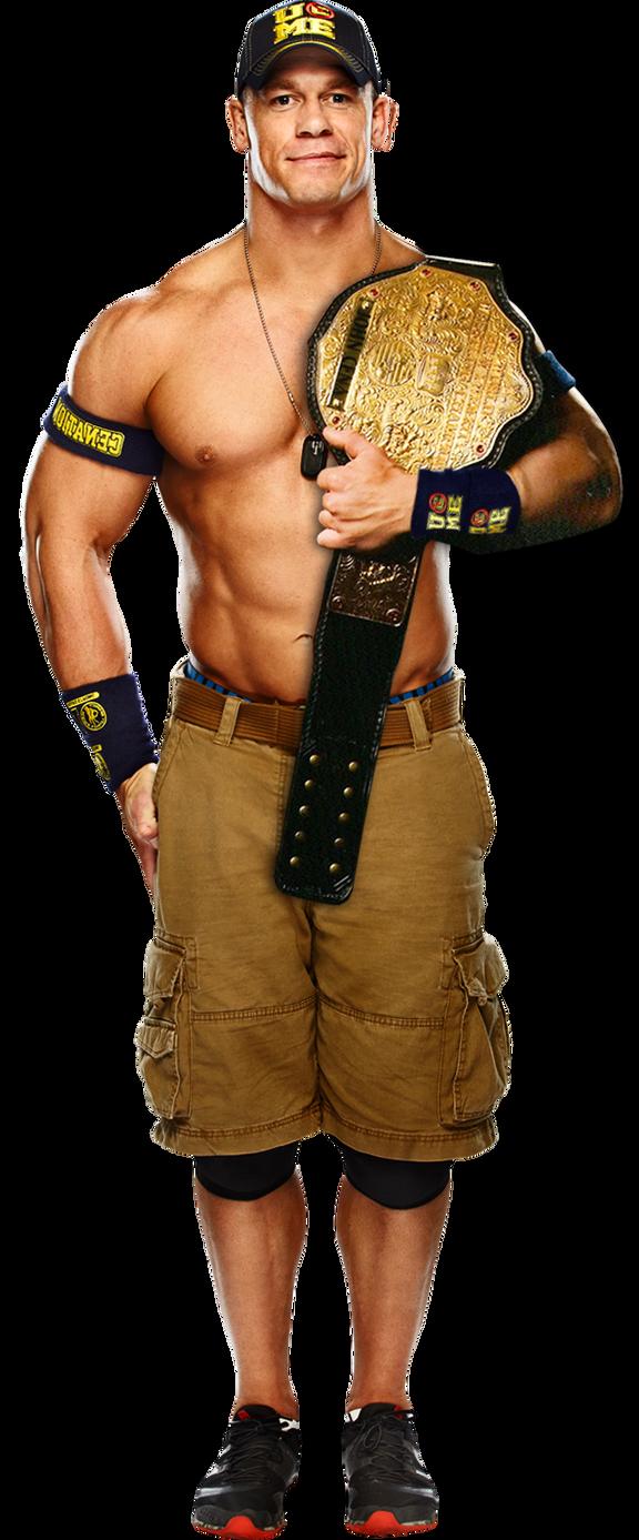 World Heavyweight Champion John Cena John Cena WHC by MrRKO...