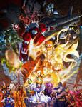 Capcom Fighting Tribute - Cyberbots