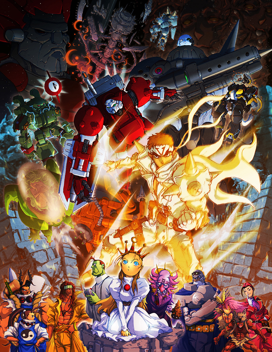 Capcom Fighting Tribute Cyberbots By Adivider On Deviantart
