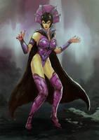 Evil Lyn sketch 2