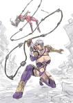 Ivy vs Taki sketch