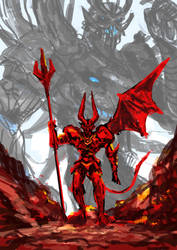 Demonic Rim sketch