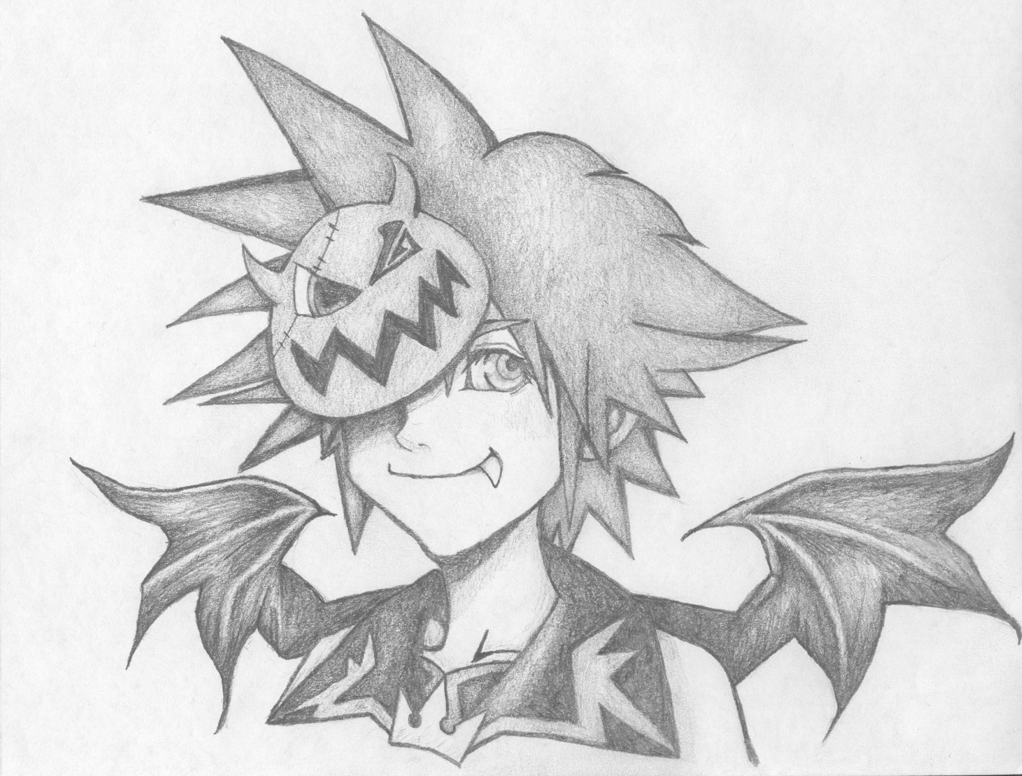 Halloweentown Sora by menohoymenoi on DeviantArt
