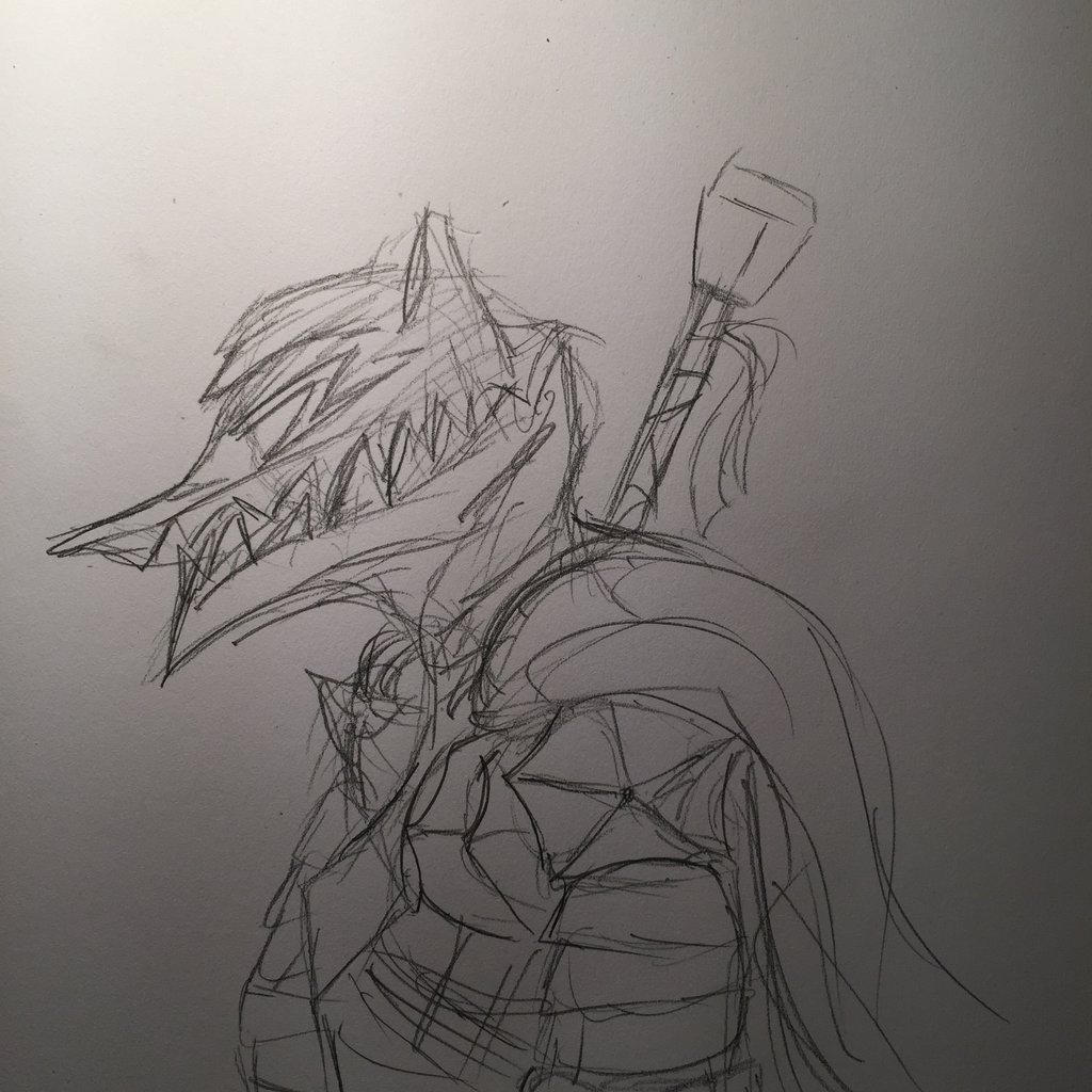 Berserker Armor Guts Sketch By Dexypaws On DeviantArt
