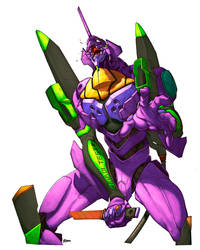 Mark Brook's EVA Mecha by -seed-