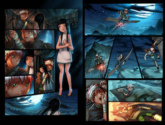 Sky Pirates Issue 2 Pages by -seed-
