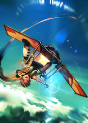 Sky Pirates of Neo Terra GN 1 by -seed-