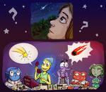 shooting star or meteorite? by AbstractSun