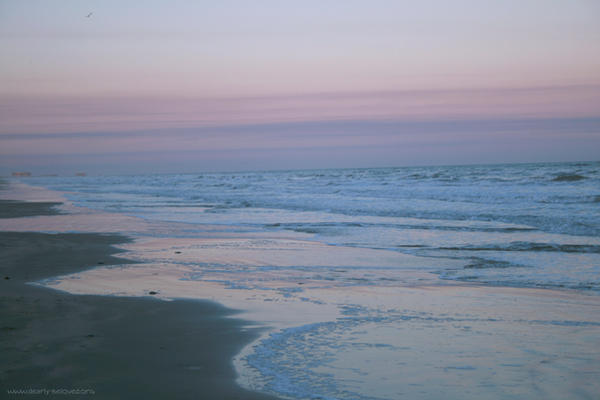 The beach at port aransas by haru megumi on deviantart for Port aransas fish cam