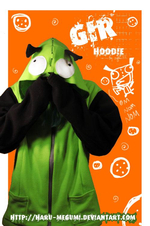 Gir Hoodie from Invader Zim by Haru-Megumi