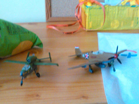P-39Q-5 and He-162