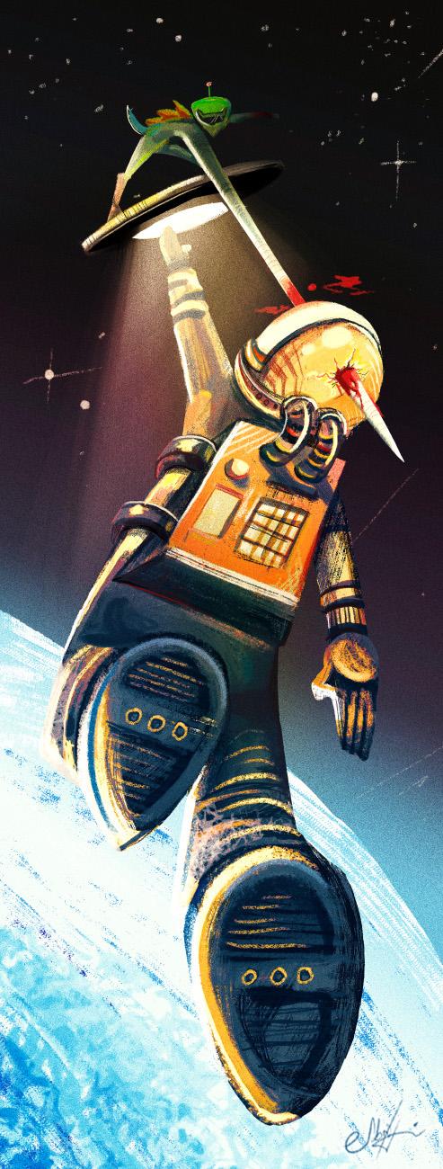 Spaceman by SabriHasankolli