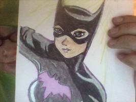 drew batgirl by rcatstott