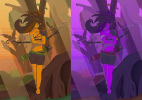 Jungle archer