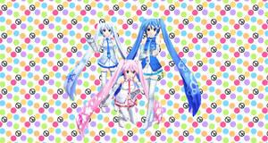 Team Miku wallpaper