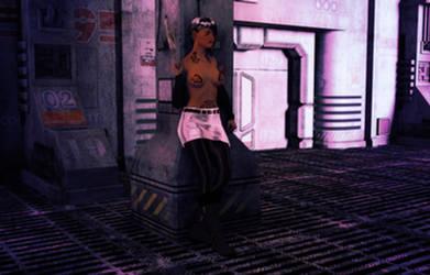 Cyberpunk Vixen 1 by DazzlerofDagon