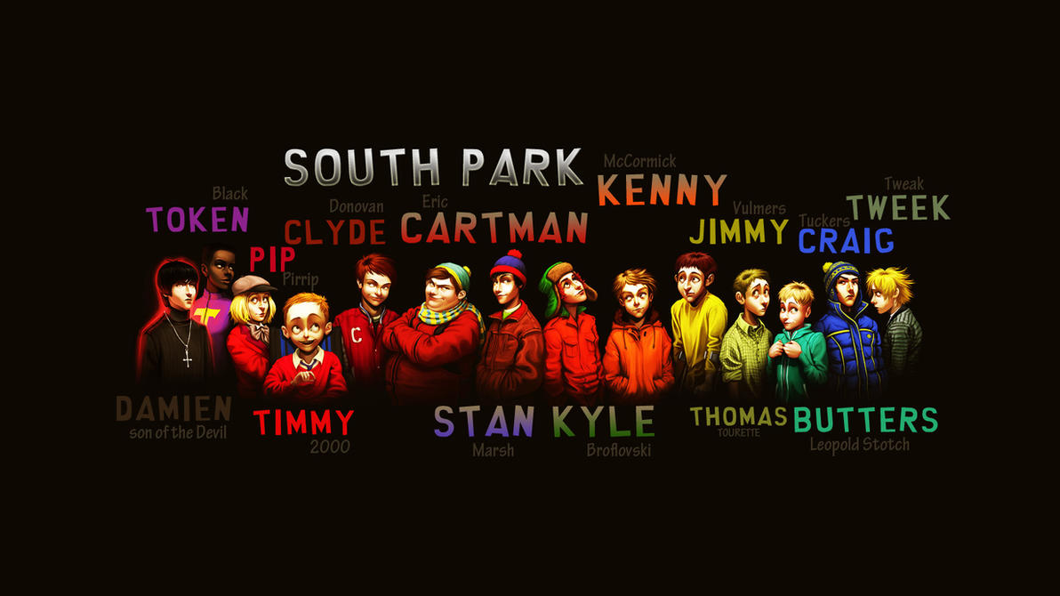 south park wallpaperdeper on deviantart