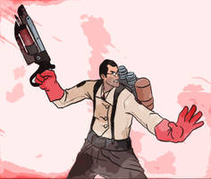 TF2 Medic Colour In by TheVocoderGuy