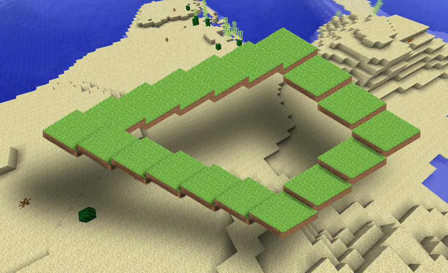 Impossible Minecraft Sairs by TheVocoderGuy