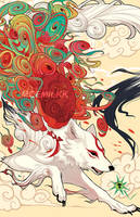 look another okami fanart by CaptainPeppiCola