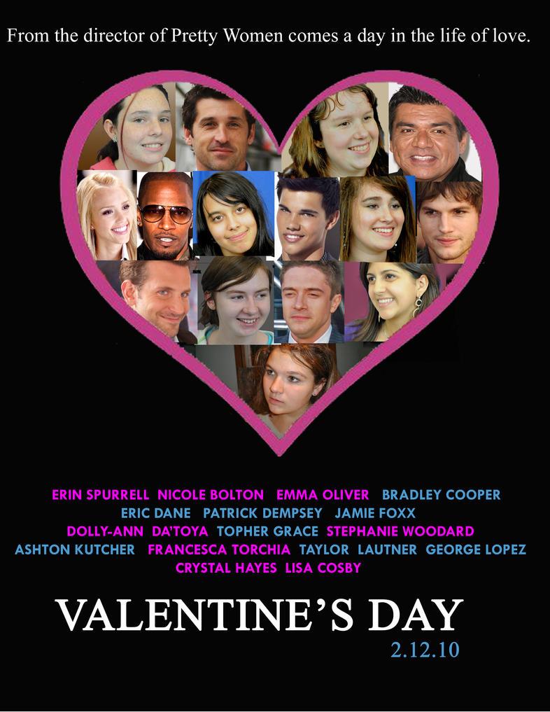 Valentineu0027s Day Movie Poster By Star Buddy ...