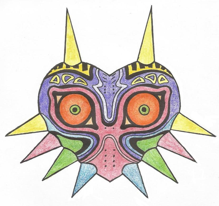 Major'S Mask Drawing 2