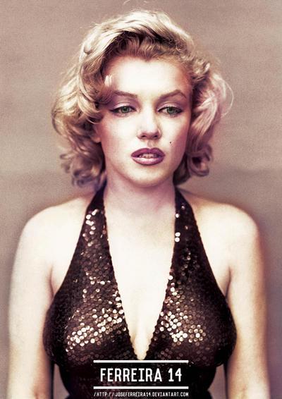 Marilyn Monroe Color by JoseFerreira14