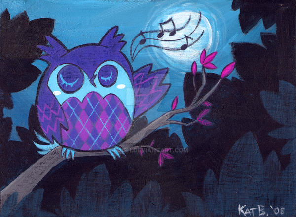 The Argyle Owl's Moon Song by fuish
