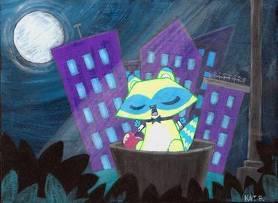 Mr. Raccoons Midnight Moonsong