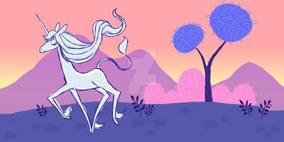 The Last Unicorn by fuish