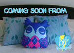 Argyle Owl Pillow-Plush