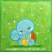 Squirtle Painting by fuish
