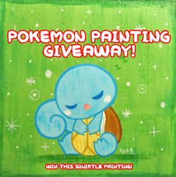 Pokemon Giveaway by fuish