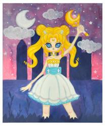 Sailor Moon by fuish