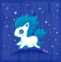 Shiny Ponyta by fuish