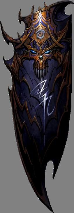 Handsome Dark Shield [Warhammer]