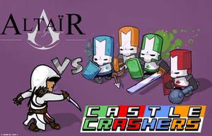 Altair vs Castle Crashers by Ghieri