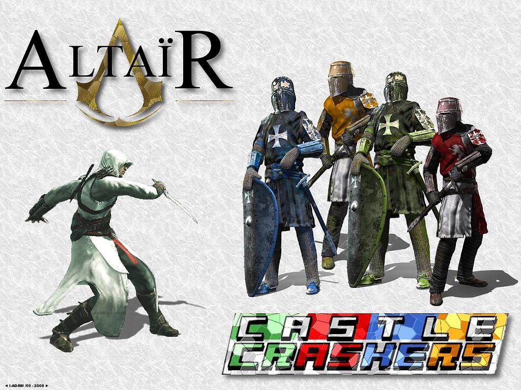 Real castle crashers vs altair by ghieri on deviantart - Castle crashers anime ...