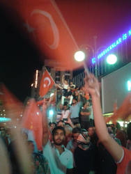 The Coup Attempt in Turkey by sutlusekersiz