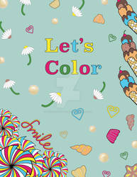 Let's Color Cover Page