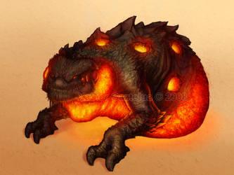 Lava Monster by Xabi-Wan