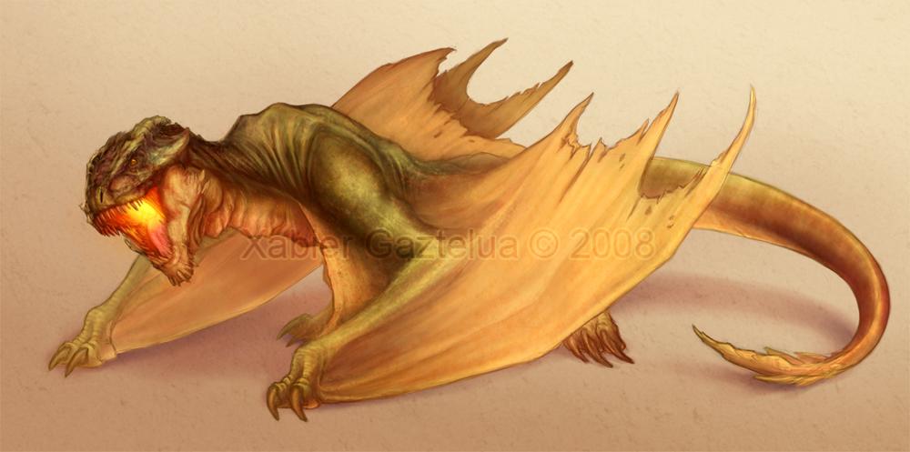 Dragon Concept by Xabi-Wan