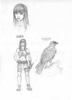 Vhea Kunoichi - Sketches