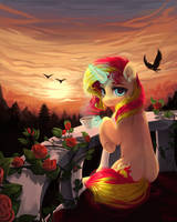 Sunset Shimmer by GrayPillow