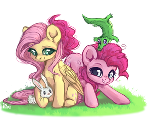 Pinkie and Fluttershy